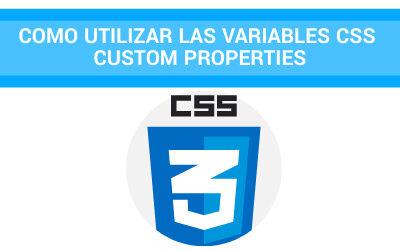 Como utilizar las variables CSS